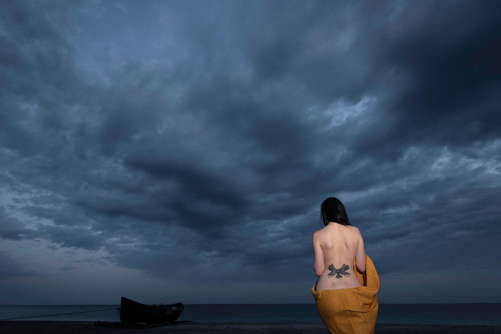 sedinta foto Constanta plaja corbu (1)