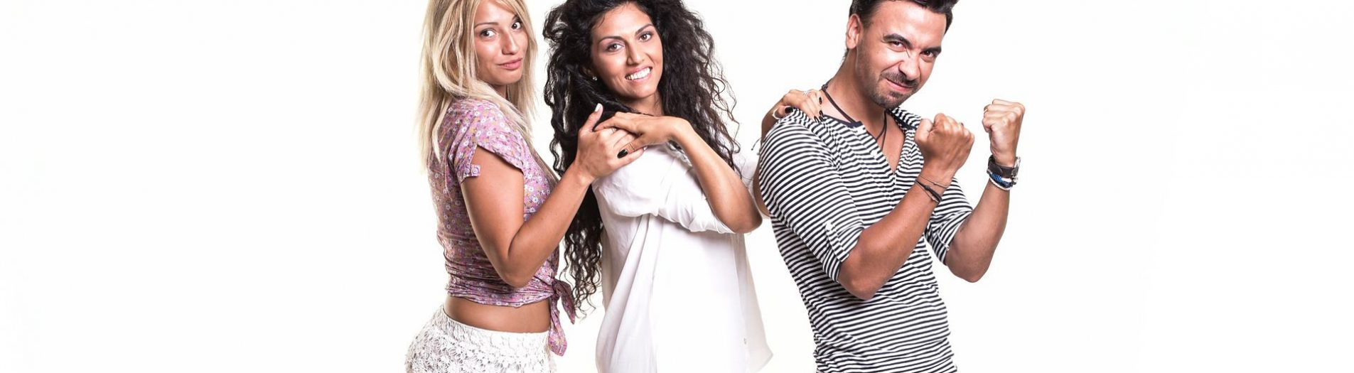 Max, Doinita & Laurette...crazy photo session for a new TV Show